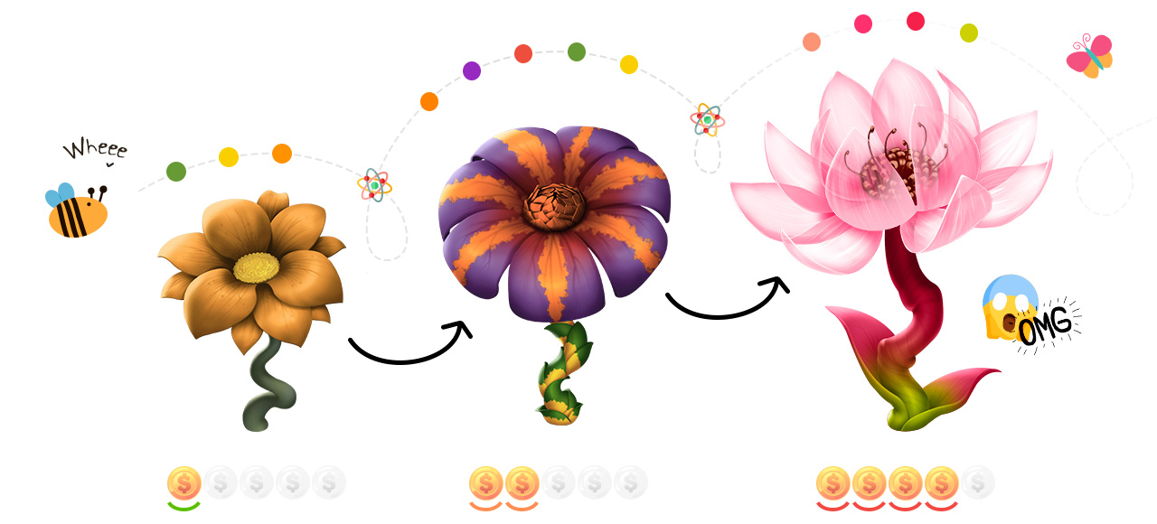 Grow your CryptoFlower